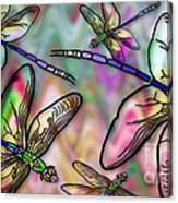Dragonfly Land Canvas Print