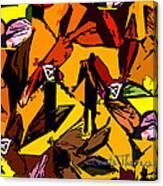 Dragonfly Man   Canvas Print