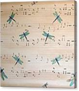 Dragonfly Symphony Canvas Print
