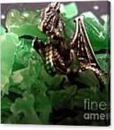 Dragon's Hoard  Canvas Print