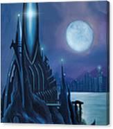 Dragontown Canvas Print