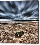 Drama At Freshwater West Canvas Print