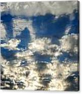 Drama Cloud Sunset I Canvas Print