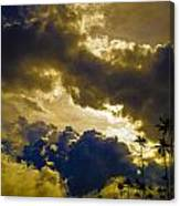 Drama Over Cocora Canvas Print