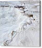 Dramatic Abstract At White Sands Canvas Print