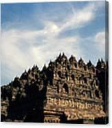 Dramatic Ancient Borobudur  Canvas Print