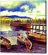 Dramatic Derwent Canvas Print