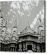 The Jain Temples Canvas Print