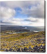 Dramatic Landscape Of The Aran Islands Canvas Print