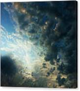 Dramatic Morning Canvas Print