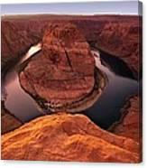 Dramatic River Bend Canvas Print