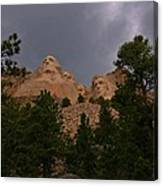 Dramatic Rushmore Canvas Print