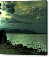 Dramatic Sky Canvas Print