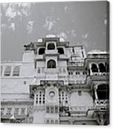 Dramatic Udaipur Canvas Print