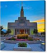 Draper Temple 1 Canvas Print
