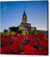 Draper Temple 4 Canvas Print