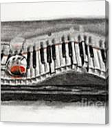 The Piano Has Been Drinking... Canvas Print