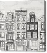 Drawn To Amsterdam Canvas Print