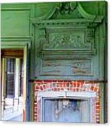 Drayton Fireplace 2 Canvas Print