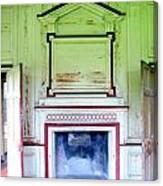 Drayton Fireplace 3 Canvas Print