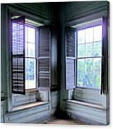 Drayton Interior Window 2 Canvas Print