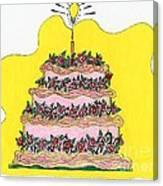 Dream Cake Canvas Print
