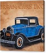 Dream Cars Inc. Canvas Print