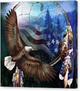 Dream Catcher - Freedom's Flight Canvas Print