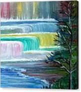 Dream Falls Canvas Print