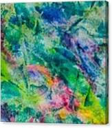 Dream Green Canvas Print