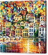 Dream Harbor Canvas Print