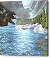 Dream Lake Canvas Print