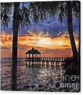 Dream Pier Canvas Print