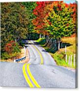 Dream Road Canvas Print