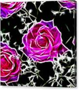 Dream With Roses Canvas Print