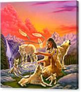 Dreamcatcher 8 Canvas Print