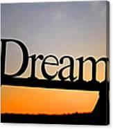 Dreaming At Sunset Canvas Print