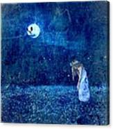 Dreaming In Blue Canvas Print