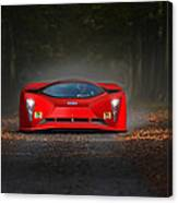 Dreaming In Rosso Corsa... Canvas Print