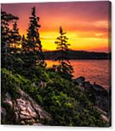Dreaming Of Acadia Canvas Print