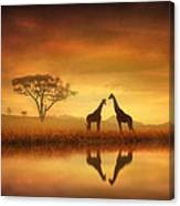 Dreaming Of Africa Canvas Print