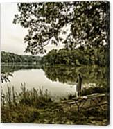 Dreaming Of Fishing At Argyle Lake Canvas Print