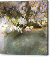 Dreaming Of Forget-me-nots Canvas Print