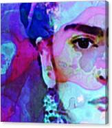 Dreaming Of Frida - Art By Sharon Cummings Canvas Print