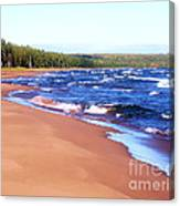 Dreaming Of Lake Superior Canvas Print