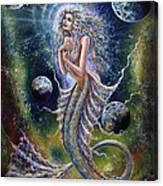 Dreams Of Mermaid Canvas Print