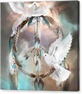 Dreams Of Peace Canvas Print