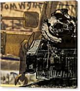 Dreams Of Trains Past Canvas Print
