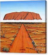 Dreamtime Australia Canvas Print