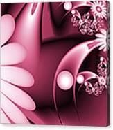 Dreamy Flower Garden Canvas Print